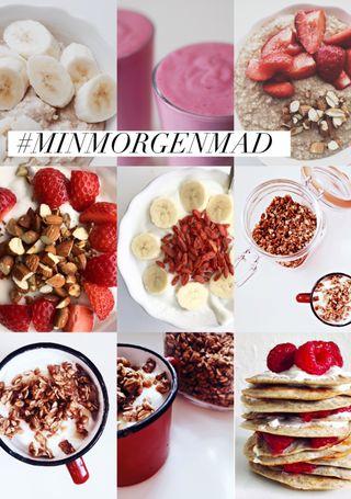 #MINMORGENMAD – 7 sunde & nærende morgenmadsopskrifter