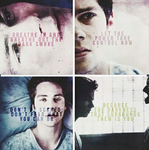 Yes, I will steal everything from Teen Wolf, though I never have or ever will watch the show.