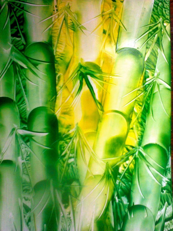 бамбук (энкаустика encaustic)