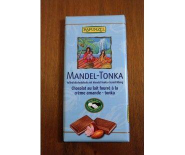 Idee bio de gustare delicioasa de care avem nevoie din cand in cand pentru un spor de energie! Contine 48% umplutura de migdale Tonka.