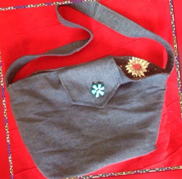 Denim skirt recycled