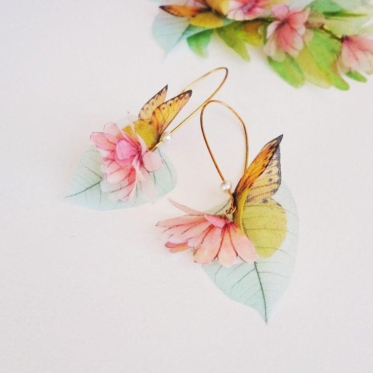 Etsy の ANTHEA Earrings by jewelera