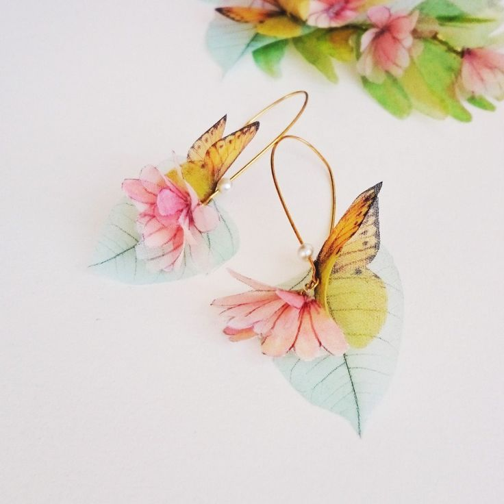 Etsy の ANTHEA Earrings by jewelera