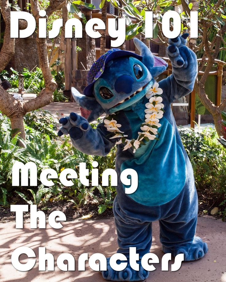 Disney 101 - Meeting The Characters - Stitch