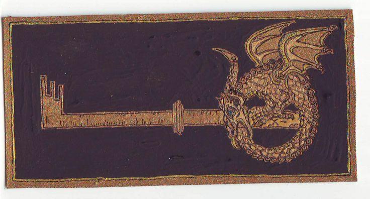 Uroborosz- kulcs, 2007 novemberi álom, egy kulcs formájú/kulcsot tartó uroborosz