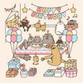 Happy Birthday from Pusheen the Cat