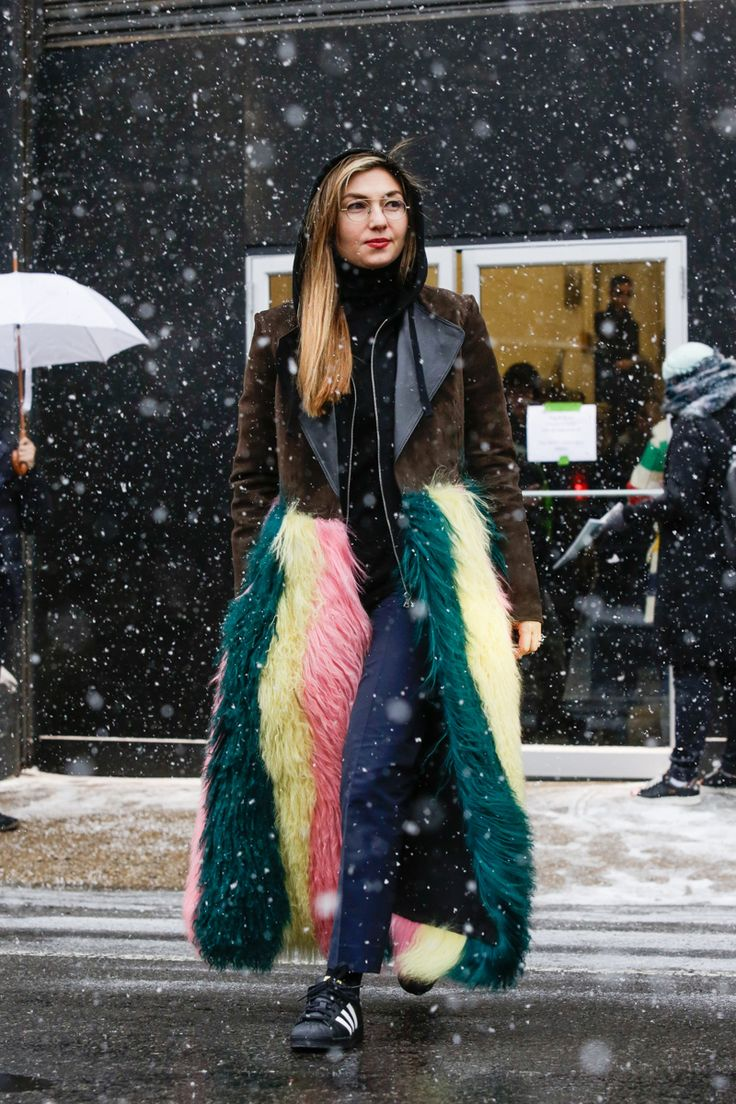 Street style, New York Fashion Week: 20 snaps from outside a chilly start to Fall 2016