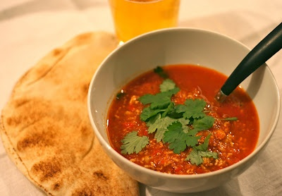Pork Mince Chili Soup