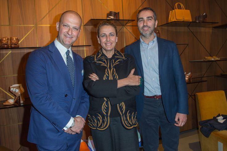 Giuseppe Santoni, Patricia Urquiola, Lorenzo Arosio