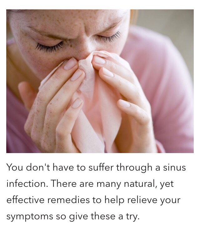 Natural Remedies For Severe Sinus Problems