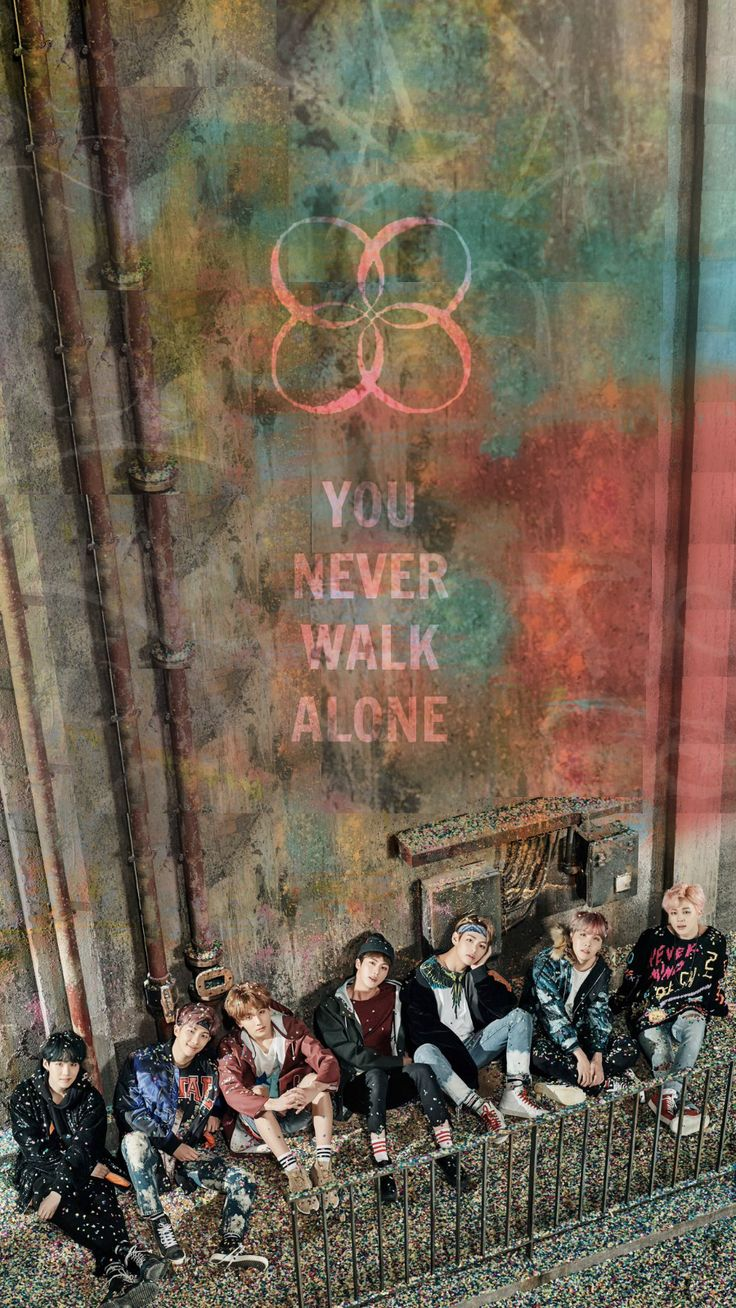 SugaSuite - [HD] BTS x You Never Walk Alone - Wall Paper if...