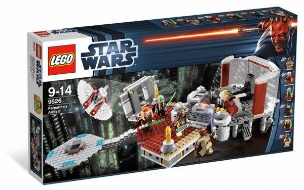 LEGO Star Wars 9526 Palpatines Arrest Box Art Official