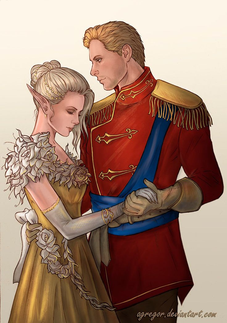 Cullen and Lauren Lavellan  by Agregor  My OC Lauren Lavellan and Cullen  From Dragon Age: Inquisition  Cullen Romance  I still practicing a new style.