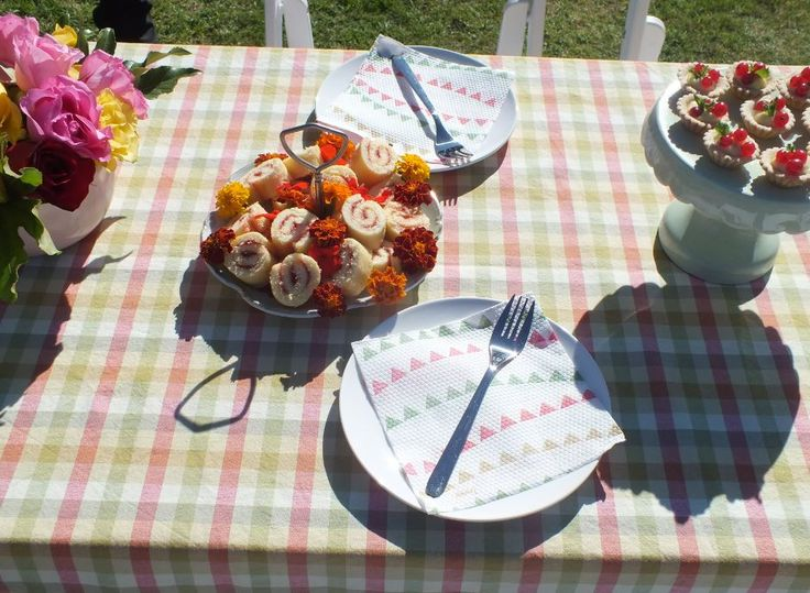 Dainty finger food fit for a Garden Party.
