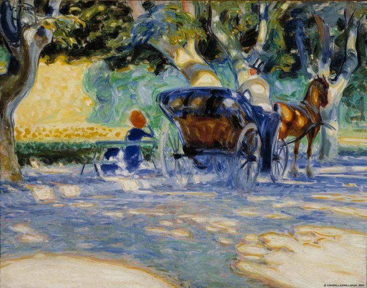 Verner Thome - Borély Park, 1909