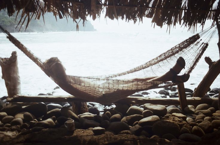 After surfing in the morning on an empty stomach, we would hop out and walk onto the rocks to our favourite restaurant to tuck into some Pupusas and banana smoothies. It is literally perched on the point. Their hammocks were also the perfect spot for a nap throughout the day.