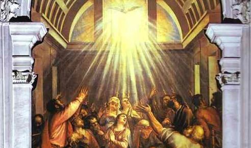 pentecost 50 days after resurrection