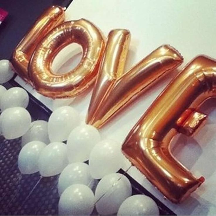 4 PCs 40 inch LOVE Giant Silver&Gold Letters Helium Inflatable Toys Happy Birthday Party Wedding Decoration Big Foil Kids Toys