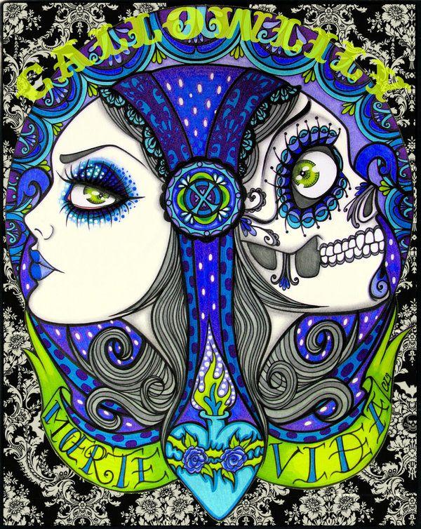 Living.Dead+by+CallowLily.deviantart.com+on+@deviantART