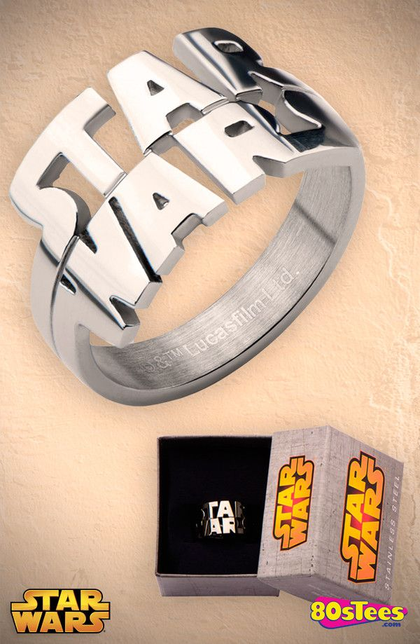 Star Wars Cut Out Logo Ring: Star Wars Jewelry