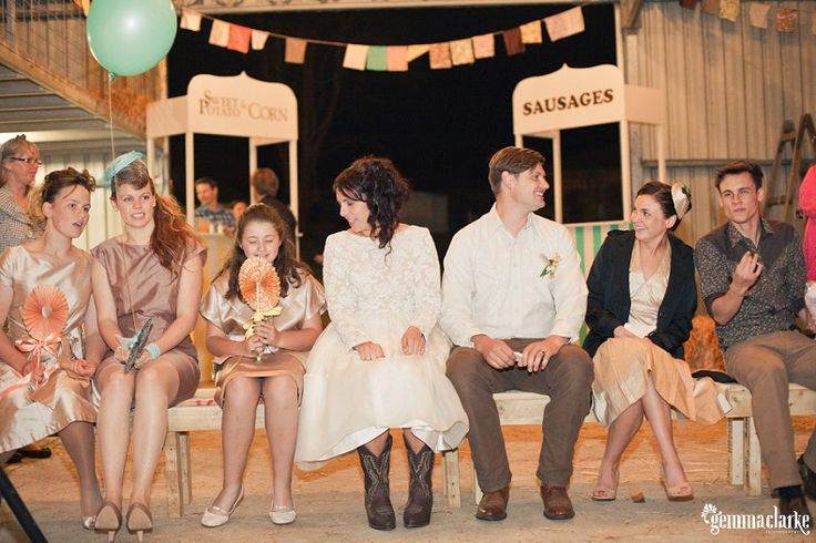 Hannah and Cam's Quirky Farm Wedding – Milton