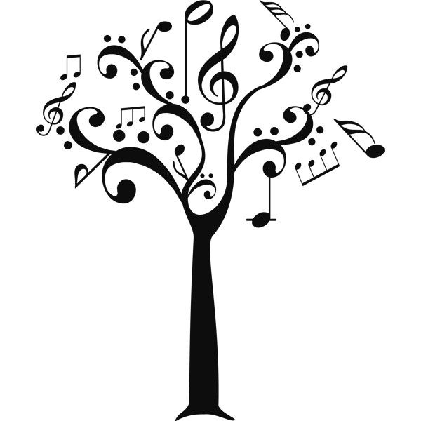 M s de 25 ideas fant sticas sobre notas musicales en for Vinilos decorativos sobre musica