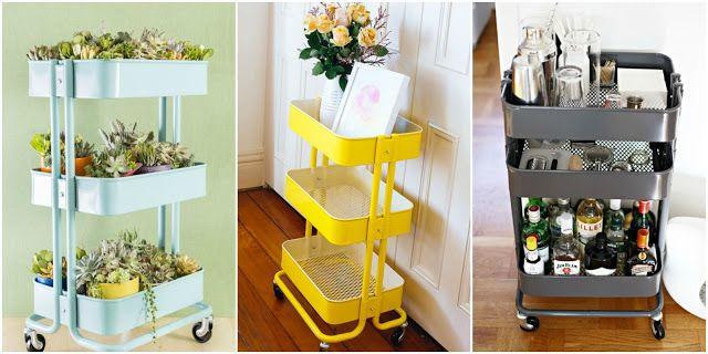Adoro Lilás Blog no Canada: O carrinho da Ikea - Raskog utility cart