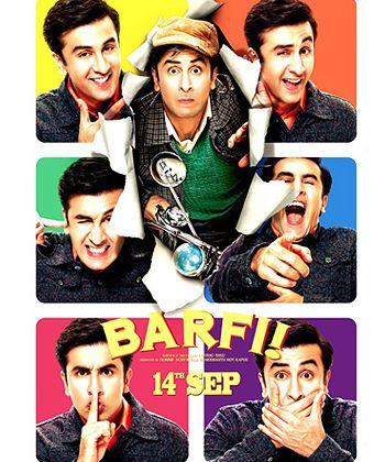 Barfi! (Hindi) Slapstick comedy, love story, tearjerker scenes...loved every bit!