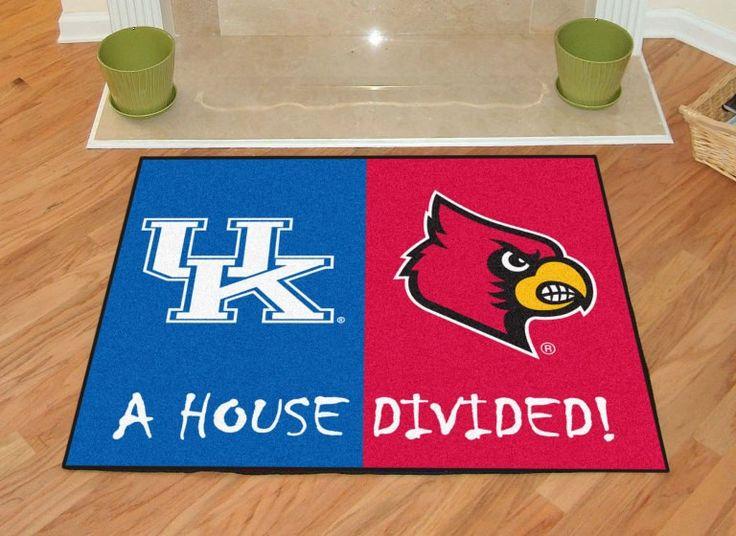Kentucky - Louisville College House Divided Mat