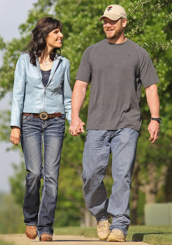 Taya Kyle (widow of Navy SEAL Chris Kyle) discusses #military marriage and 'American Sniper'.
