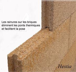 Brique chanvre isolant exterieur thermique phonique for Les meilleurs isolants phoniques