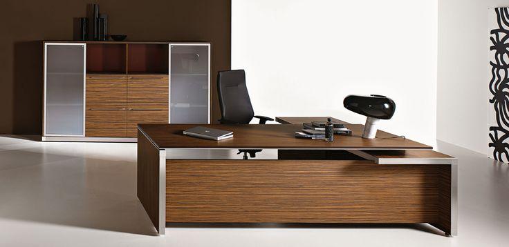Bureaux de direction Eos par Las Mobili, Design Giovanni Giacobone