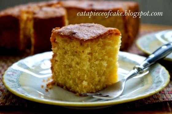 butter orange cake