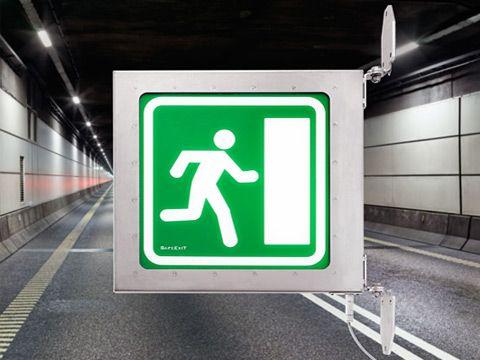 Lighting Fixtures Emergency Armature for road tunnels design Kent Laursen and Karsten Kristoffersen