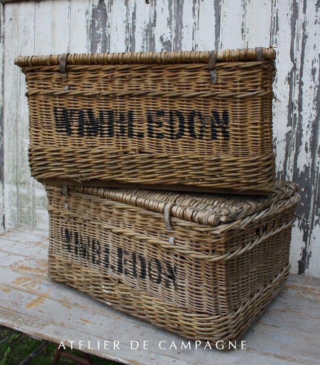Vintage Wicker Baskets