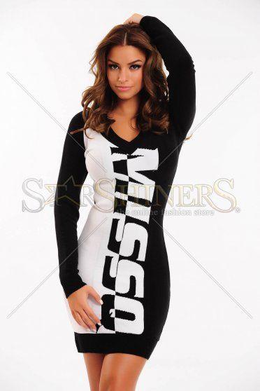 Rochie MissQ Insertion Black