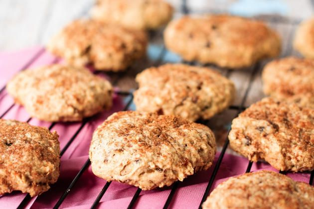 Apple+Oatmeal+Breakfast+Cookies+Recipe