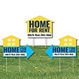 #DailyDeal Home for Rent Signs - Yard Sign with Stakes - Double Sided Outdoor Lawn Sign - Set of 3     List Price: $44.99Deal Price: $39.99You Save: $0.00 (0%)Printed on Weather Resistant https://buttermintboutique.com/dailydeal-home-for-rent-signs-yard-sign-with-stakes-double-sided-outdoor-lawn-sign-set-of-3/