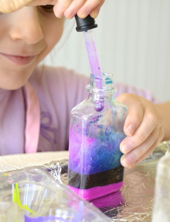 "Valentine Crafts and Activities for Kids -- ""Love Potions"" and more! :-)"
