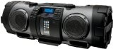 JVC RV-NB70B Powered iPod/iPhone Dock Woofer Speaker System with connection for MP3/Mic/CD and Guitar – Black: fitness instructor microphone