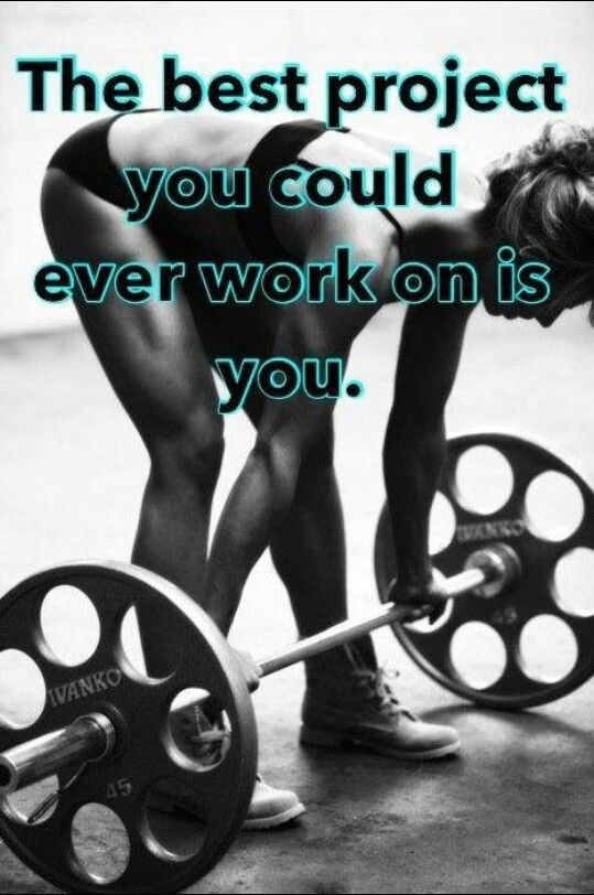 Get to working on you