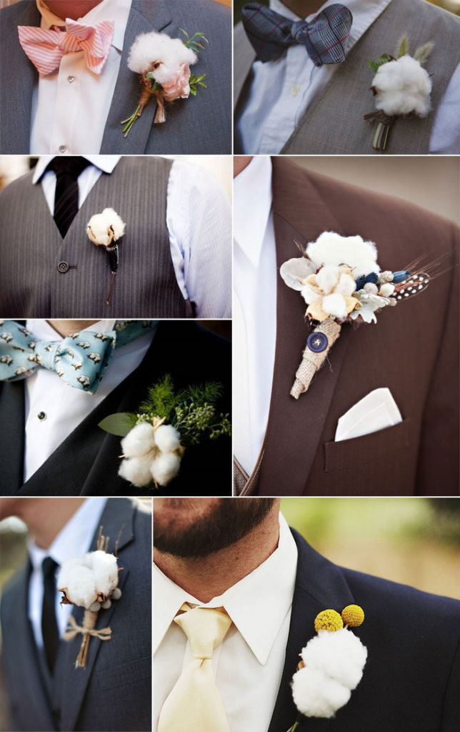 Rustic Country Cotton Wedding Ideas | http://www.deerpearlflowers.com/rustic-country-cotton-wedding-ideas/