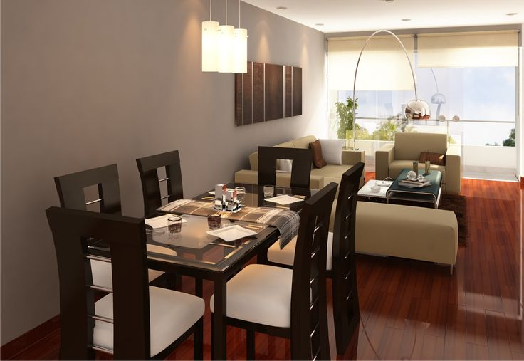 23 best images about sala comedor on pinterest flats for Decoracion interior living comedor