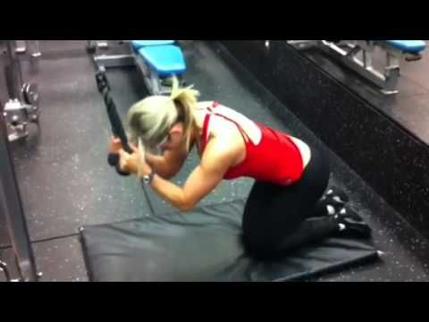 Best ab exercises for women seen here!  Lower ab exercises for women too! Go here: http://www.flaviliciousfitness.com/blog/2011/08/26/killer-abs/     Whether you want to get the best core exercises, stomach exercises, lower ab exercises or at home exercises for women, the weighted cable crunch is one of my favourites and if you exercise at home ...