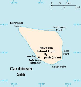Navassa Island ◆Navassa Island - Wikipedia http://en.wikipedia.org/wiki/Navassa_Island #Navassa_Island