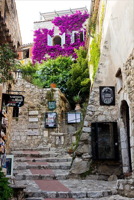 Medieval village of Eze, France