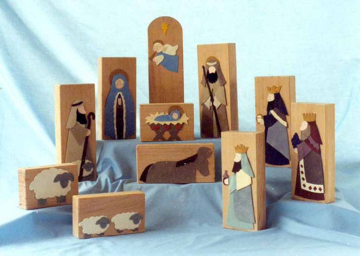 Christmas with kids--make one block a week for 12 weeks (add a camel) while leading up to Christmas day.