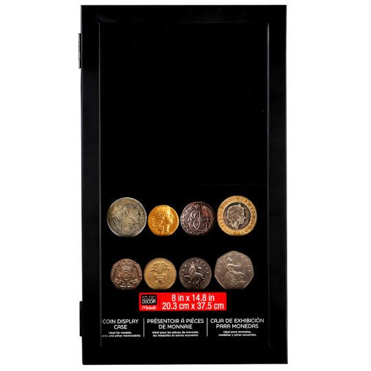 <div>This elegant display case is perfect for exhibiting medals, coins and other memorabilia beh...