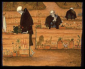 The Garden of Death, Hugo Simberg, 1896