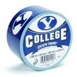 This is why I love being Mormon -  Duck Brand 240370 BYU College Logo Duct Tape, 1.88-Inch by 10 Yards, Single Roll / http://www.mormonproducts.net/?p=53